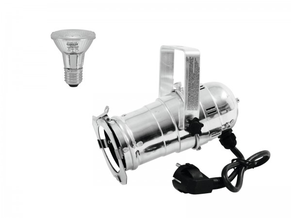 EUROLITE Set PAR-20 Spot sil + PAR-20 230V SMD 6W E-27 LED 6500K // EUROLITE Set PAR-20 Spot sil + PAR-20 230V SMD 6W E-27 LED 6500K1
