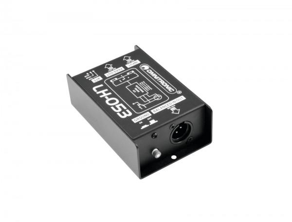 OMNITRONIC LH-053 DI-Box passiv // OMNITRONIC LH-053 Passive DI Box1