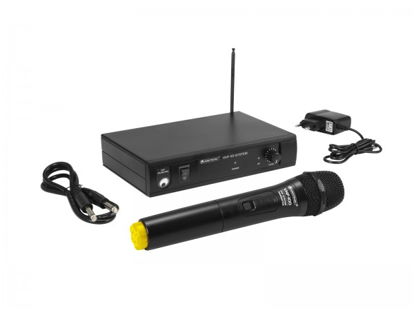 OMNITRONIC VHF-101 Funkmikrofon-System 214.35MHz // OMNITRONIC VHF-101 Wireless Mic System 214.35MHz1
