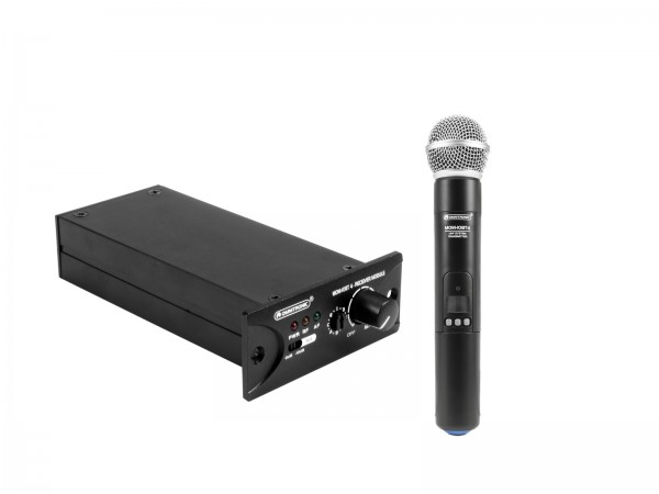 OMNITRONIC Set MOM-10BT4 Empfangsmodul + Funkmikrofon // OMNITRONIC Set MOM-10BT4 Receiver module + Wireless microphone1