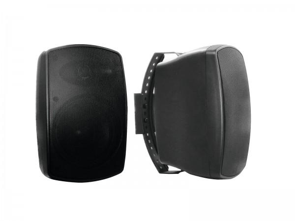OMNITRONIC OD-5 Wandlautsprecher 8Ohm schwarz 2x // OMNITRONIC OD-5 Wall Speaker 8Ohms black 2x1