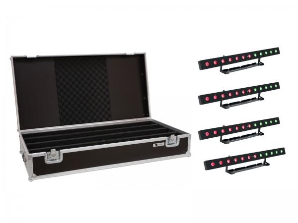 EUROLITE Set 4x LED PIX-12 HCL Leiste + Case // EUROLITE Set 4x LED PIX-12 HCL Bar + Case1