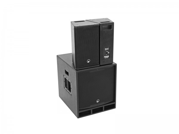 OMNITRONIC MAXX-1508DSP 2.1 Aktiv-System // OMNITRONIC MAXX-1508DSP 2.1 Active System1