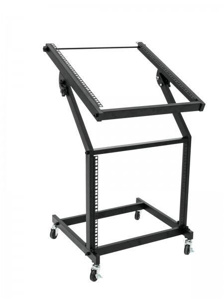 OMNITRONIC Rackwagen 12HE/10HE schwenkbar auf Rollen // OMNITRONIC Rack Stand 12U/10U adjustable on Wheels1