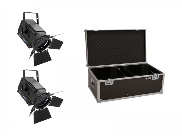 EUROLITE Set 2x LED THA-150F + Case // EUROLITE Set 2x LED THA-150F + Case1