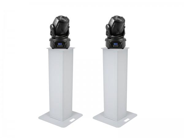 EUROLITE Set 2x Stage Stand 100cm + 2x LED TMH-60 MK2 // EUROLITE Set 2x Stage Stand 100cm + 2x LED TMH-60 MK21