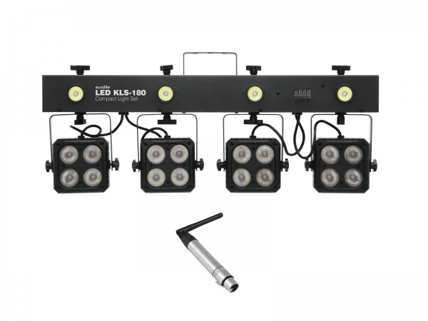 EUROLITE Set LED KLS-180 + QuickDMX Funkempfänger // EUROLITE Set LED KLS-180 + QuickDMX Wireless receiver1