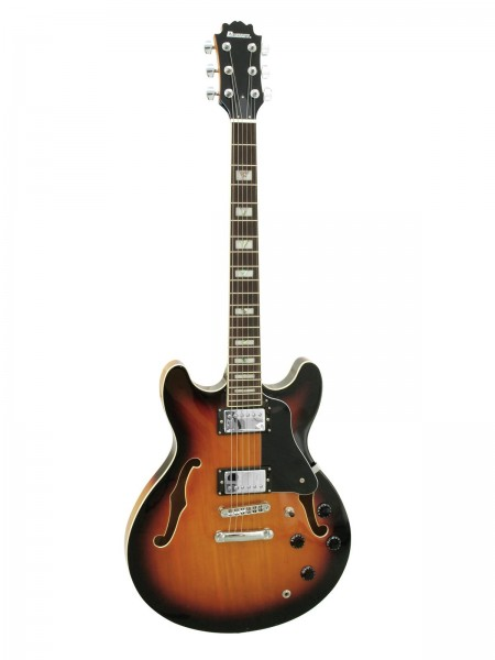 DIMAVERY SA-610 Jazz-Gitarre, sunburst // DIMAVERY SA-610 Jazz Guitar, sunburst1
