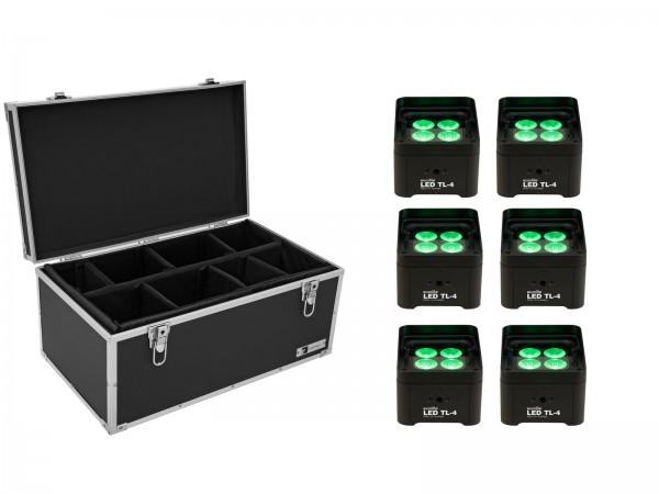 EUROLITE Set 6x LED TL-4 Trusslight + Case // EUROLITE Set 6x LED TL-4 Trusslight + Case1