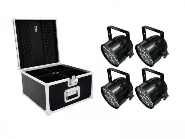 EUROLITE Set 4x LED PAR-56 HCL Short sw + PRO Case // EUROLITE Set 4x LED PAR-56 HCL Short sw + PRO Case1