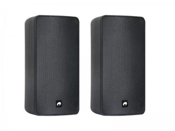 OMNITRONIC ODP-206 Installationslautsprecher 16 Ohm schwarz 2x // OMNITRONIC ODP-206 Installation Speaker 16 ohms black 2x1
