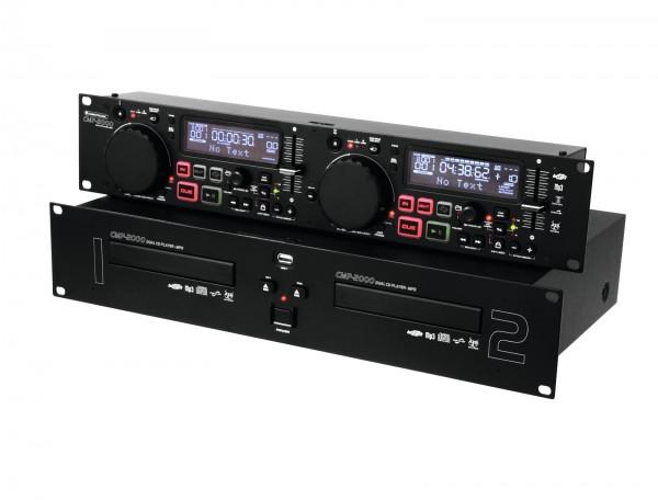 OMNITRONIC CMP-2000 Dual-CD-MP3-Player // OMNITRONIC CMP-2000 Dual CD/MP3 Player1