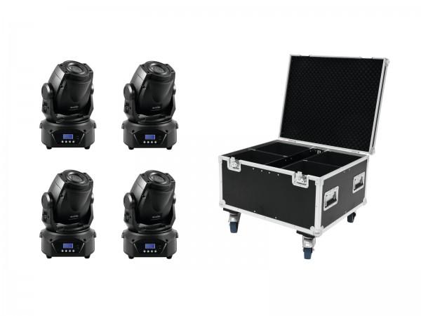 EUROLITE Set 4x LED TMH-60 MK2 + Case // EUROLITE Set 4x LED TMH-60 MK2 + Case1