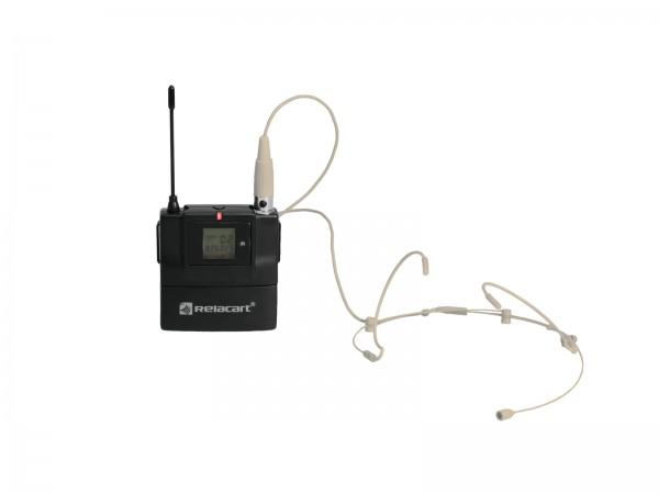 RELACART T-31 Bodypack für HR-31S mit Headset // RELACART T-31 Bodypack for HR-31S with Headset1