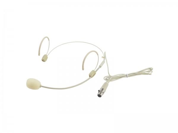 OMNITRONIC UHF-300 Kopfbügelmikrofon hautfarben // OMNITRONIC UHF-300 Headset Microphone skin-colored1