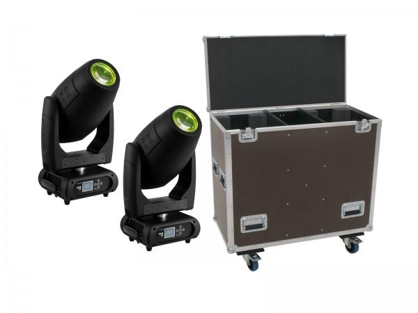 EUROLITE Set 2x DMH-300 CMY Moving-Head + Case // EUROLITE Set 2x DMH-300 CMY Moving-Head + Case1