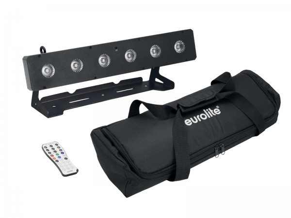 EUROLITE Set LED PIX-6 HCL + Soft Bag // EUROLITE Set LED PIX-6 HCL + Soft Bag1