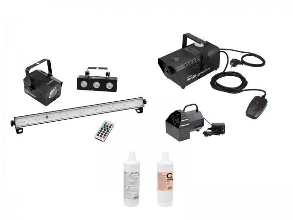 EUROLITE Set LED Mini-Partyset + B-50 + N-10 + Fluid // EUROLITE Set LED Mini-Partyset + B-50 + N-10 + Fluid1