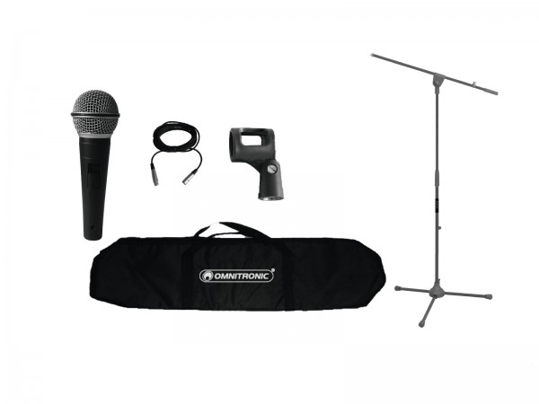 OMNITRONIC MIC VS-1 Mikrofonkomplettset // OMNITRONIC MIC VS-1 Microphone Set1