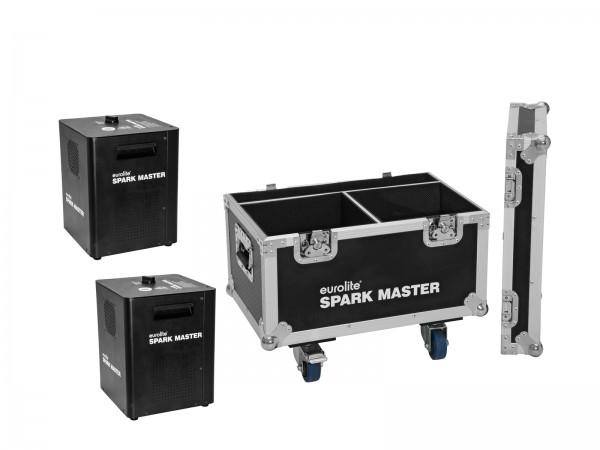 EUROLITE Set 2x Spark Master + Case // EUROLITE Set 2x Spark Master + Case1