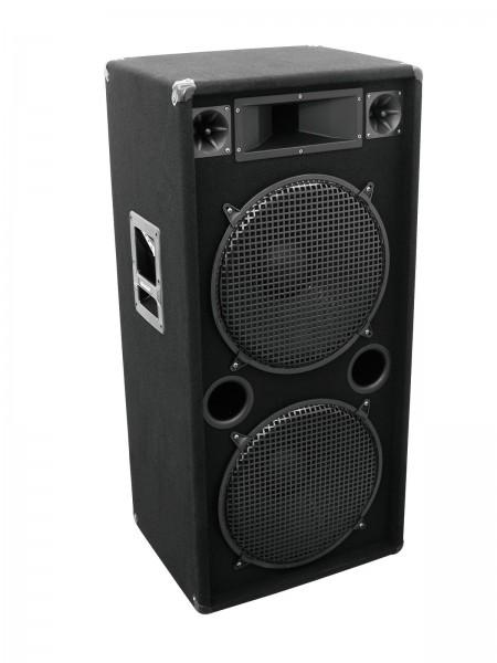 OMNITRONIC DX-2522 3-Wege Box 1200 W // OMNITRONIC DX-2522 3-Way Speaker 1200 W1