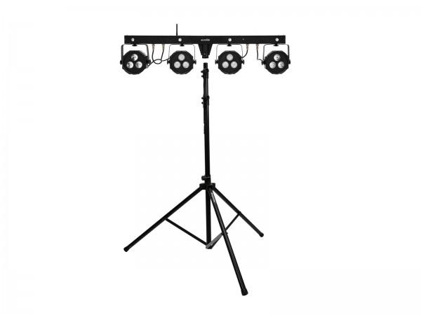 EUROLITE Set LED KLS-170 Kompakt-Lichtset + M-4 Boxenhochständer // EUROLITE Set LED KLS-170 Compact Light Set + M-4 Speaker-System Stand1