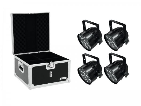 EUROLITE Set 4x LED PAR-56 QCL Short sw + EPS Case // EUROLITE Set 4x LED PAR-56 QCL Short sw + EPS Case1