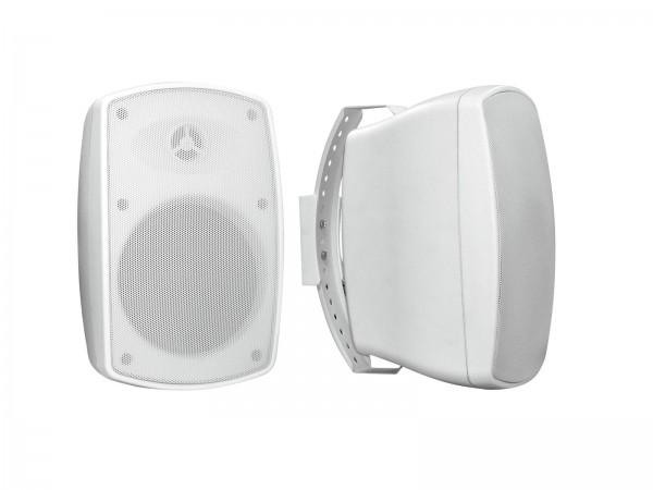 OMNITRONIC OD-6 Wandlautsprecher 8Ohm weiß 2x // OMNITRONIC OD-6 Wall Speaker 8Ohm white 2x1