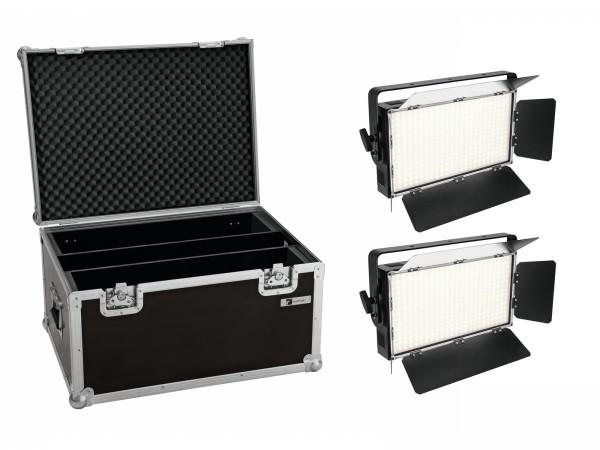 EUROLITE Set 2x LED PLL-360 3200K Panel + Case // EUROLITE Set 2x LED PLL-360 3200K Panel + Case1