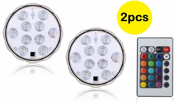 LED- Untersetzer 2 Stück