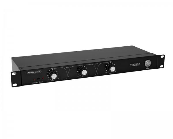 OMNITRONIC ISO-23 MK2 DJ-Isolator // OMNITRONIC ISO-23 MK2 DJ Isolator1