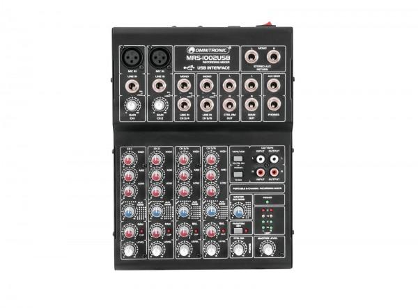 OMNITRONIC MRS-1002USB Recording-Mixer // OMNITRONIC MRS-1002USB Recording Mixer1