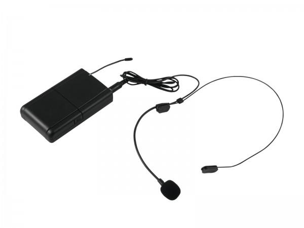OMNITRONIC WAMS-10BT Taschensender mit Headset // OMNITRONIC WAMS-10BT Bodypack with Headset1