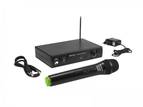 OMNITRONIC VHF-101 Funkmikrofon-System 207.55MHz // OMNITRONIC VHF-101 Wireless Mic System 207.55MHz1