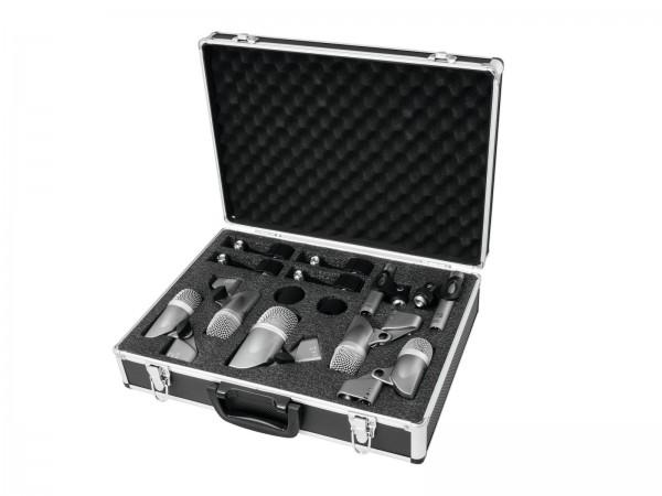 OMNITRONIC MIC 77-7LMH Schlagzeug-Mikrofonset // OMNITRONIC MIC 77-7LMH Drum Microphone Set1