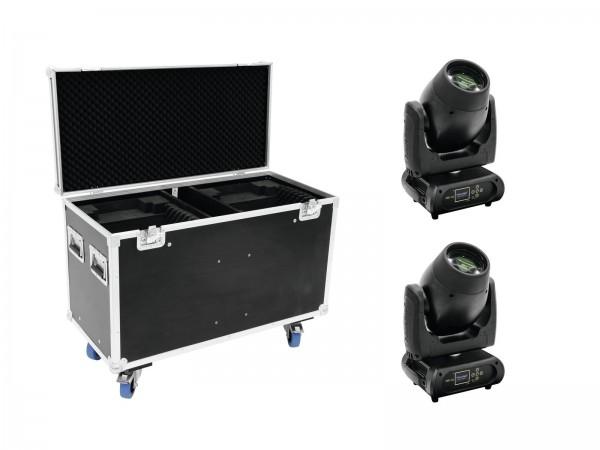 FUTURELIGHT Set 2x DMB-160 LED Moving-Head + Case // FUTURELIGHT Set 2x DMB-160 LED Moving-Head + Case1