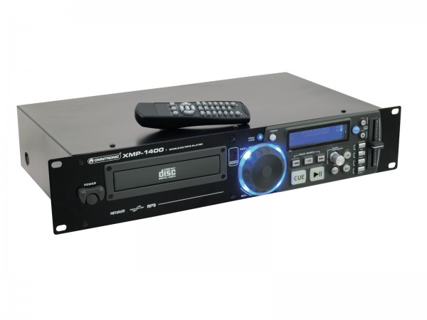 OMNITRONIC XMP-1400 CD-/MP3-Player // OMNITRONIC XMP-1400 CD/MP3 player1