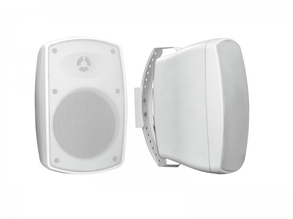 OMNITRONIC OD-5T Wandlautsprecher 100V weiß 2x // OMNITRONIC OD-5T Wall Speaker 100V white 2x1