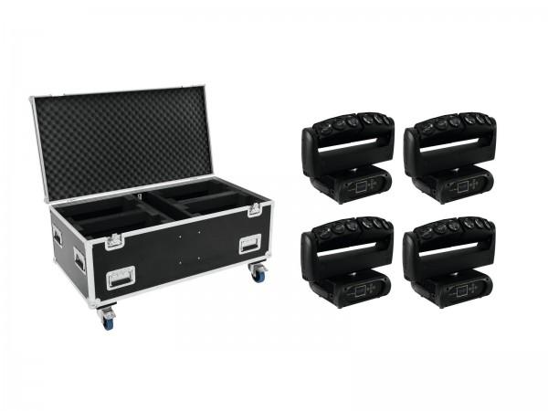 FUTURELIGHT Set 4x Wave LED-Moving-Leiste + Case // FUTURELIGHT Set 4x Wave LED Moving Bar + Case1