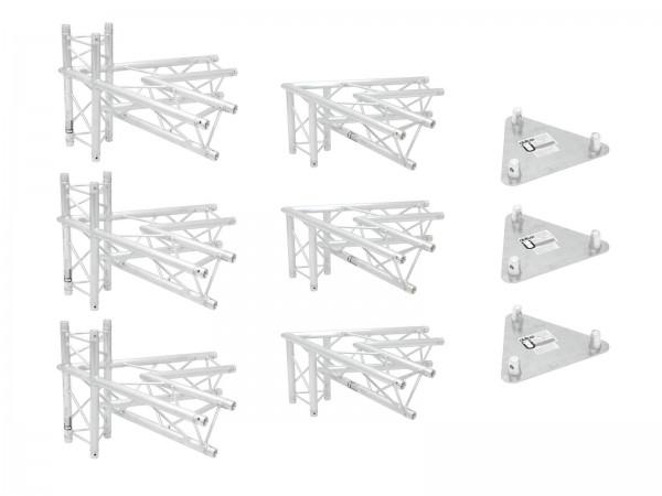 ALUTRUSS Traversenset TRILOCK 6082 Werbetower Basis-Set // ALUTRUSS Truss set TRILOCK 6082 Promotion System Basis Set1